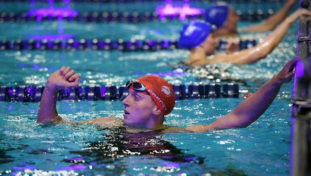 Katie ledecky, 23 anni, americana, 5 ori olimpici e 15 mondiali, 14 record mondiali