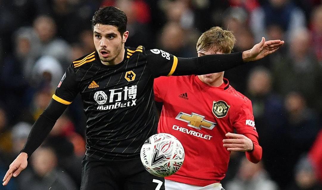 Pedro Neto, 20 anni,in maglia Wolverhampton. Afp