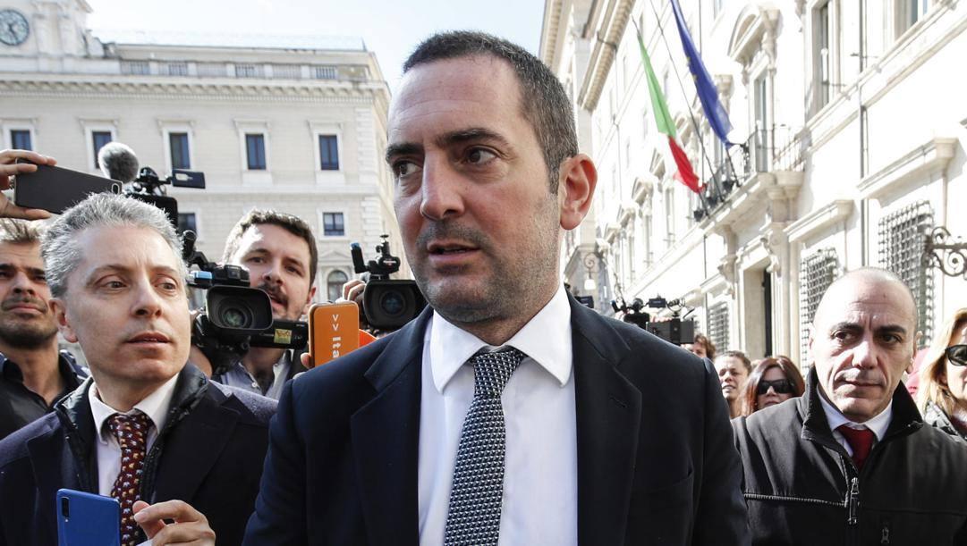 Il ministro dello Sport Vincenzo Spadafora. Ansa