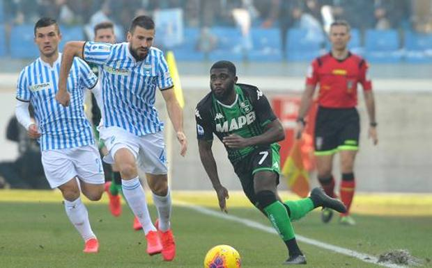 Il derby Spal-Sassuolo. Getty Images
