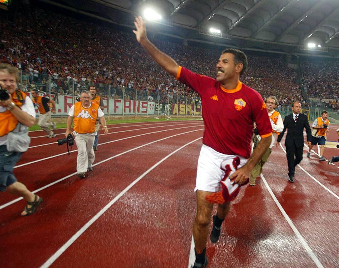Toninho Cerezo, 65 anni, ai tempi della Roma. Ansa
