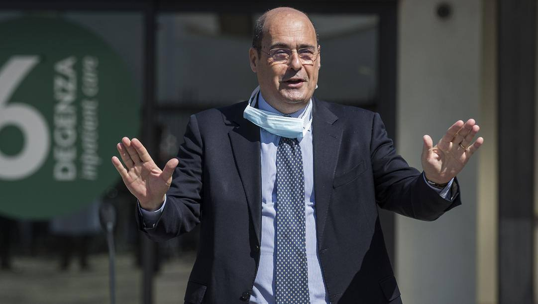 Nicola Zingaretti. LaPresse