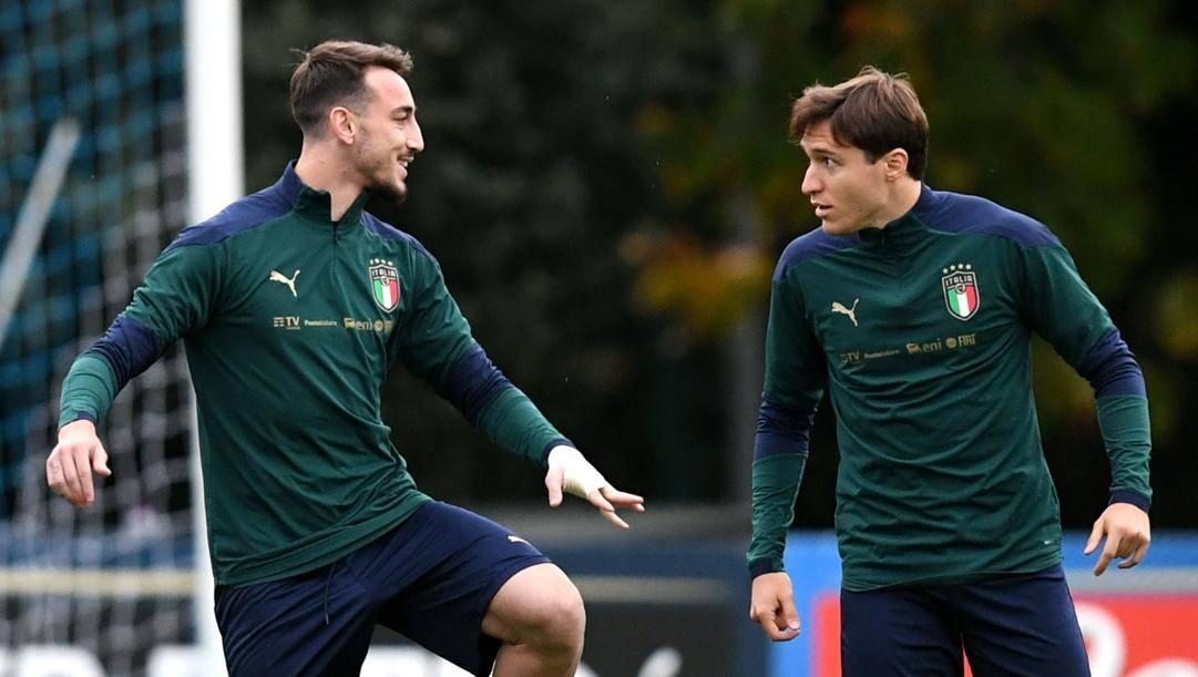 Gaetano Castrovilli, 23 anni, e Federico Chiesa, 22