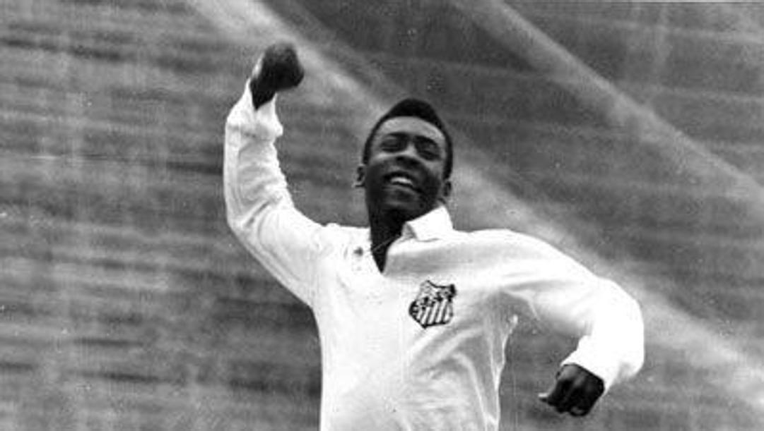 Pelé, classe 1940, due volte re col Santos nel 1962 e 1963