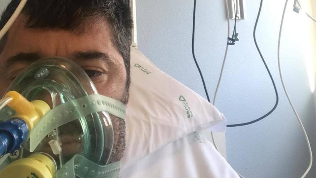 Matteo Malaventura, 41 anni, lo scorso marzo