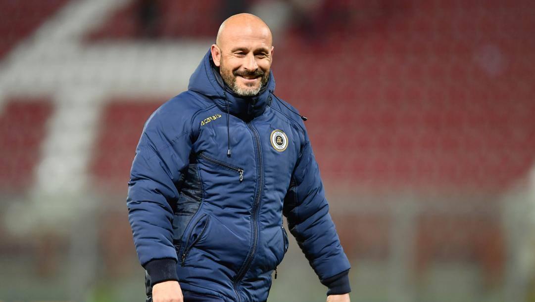 Vincenzo Italiano, uno degli allenatori-rivelazione della stagione di B. Lapresse