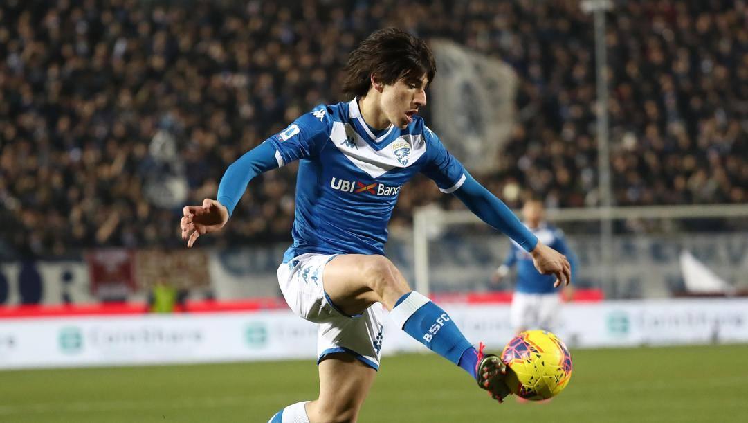 Sandro Tonali, 19 anni, centrocampista del Brescia.