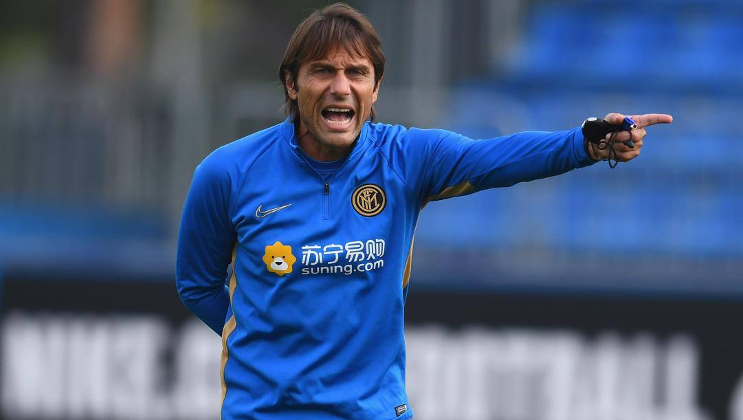 Il tecnico dell'Inter Antonio Conte, 50 anni. (Getty Images)