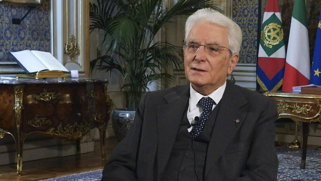 Sergio Mattarella, 78 anni. Lapresse