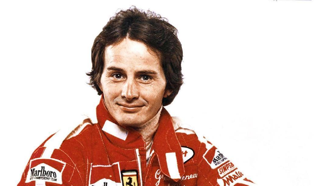 Gilles Villeneuve, scomparso l'8 maggio 1982. Ansa