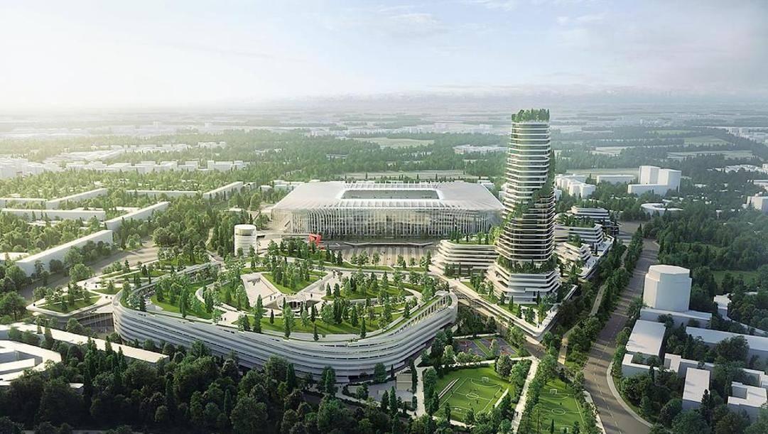 La Cattedrale, il progetto del nuovo distretto di San Siro ideato dallo studio Populous