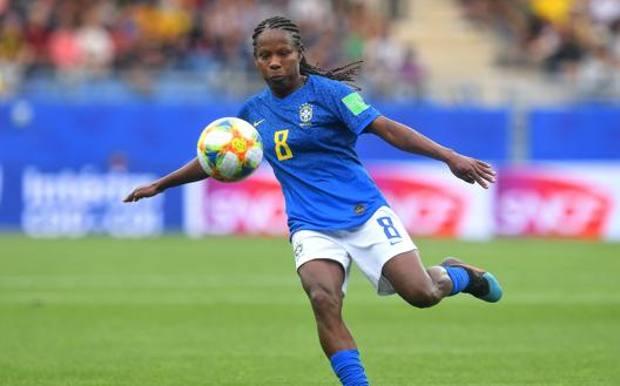 Formiga, 42 anni, con la maglia del Brasile GETTY IMAGES