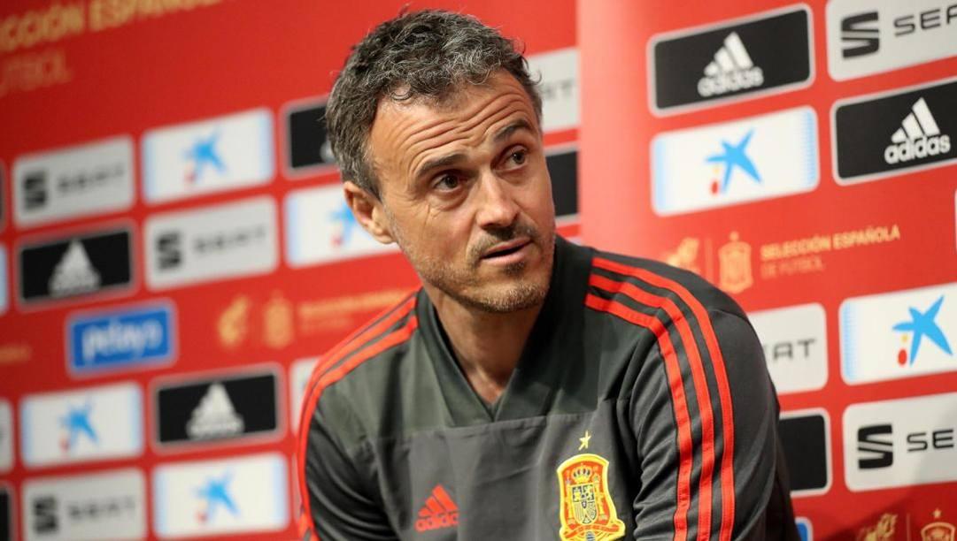 Luis Enrique, 50 anni, è tornato ct della Nazionale spagnola lo scorso novembre. Epa