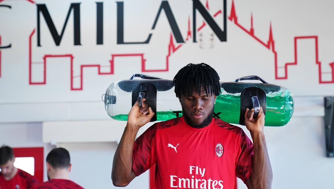 Franck Kessie, 23 anni, al Milan dal 2017-18. LaPresse