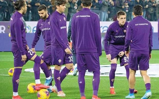 Un gruppo della Fiorentina. Sestini