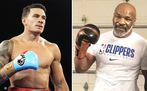 Sonny Bill Williams, 34 anni e Mike Tyson, 53