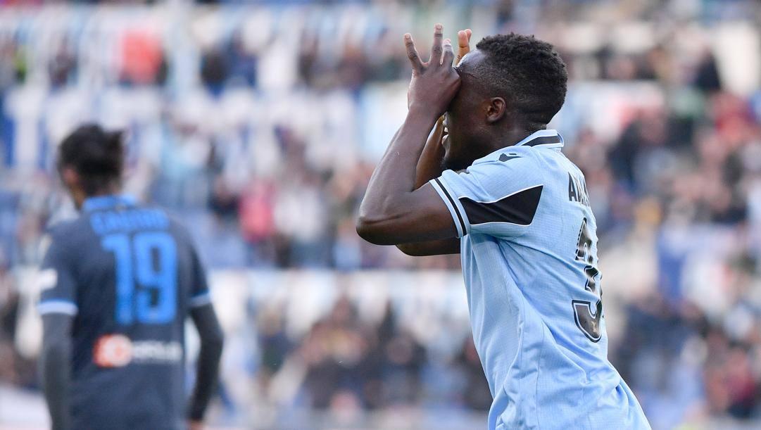 Bobby Adekanye, 21 anni, attaccante della Lazio. Lapresse