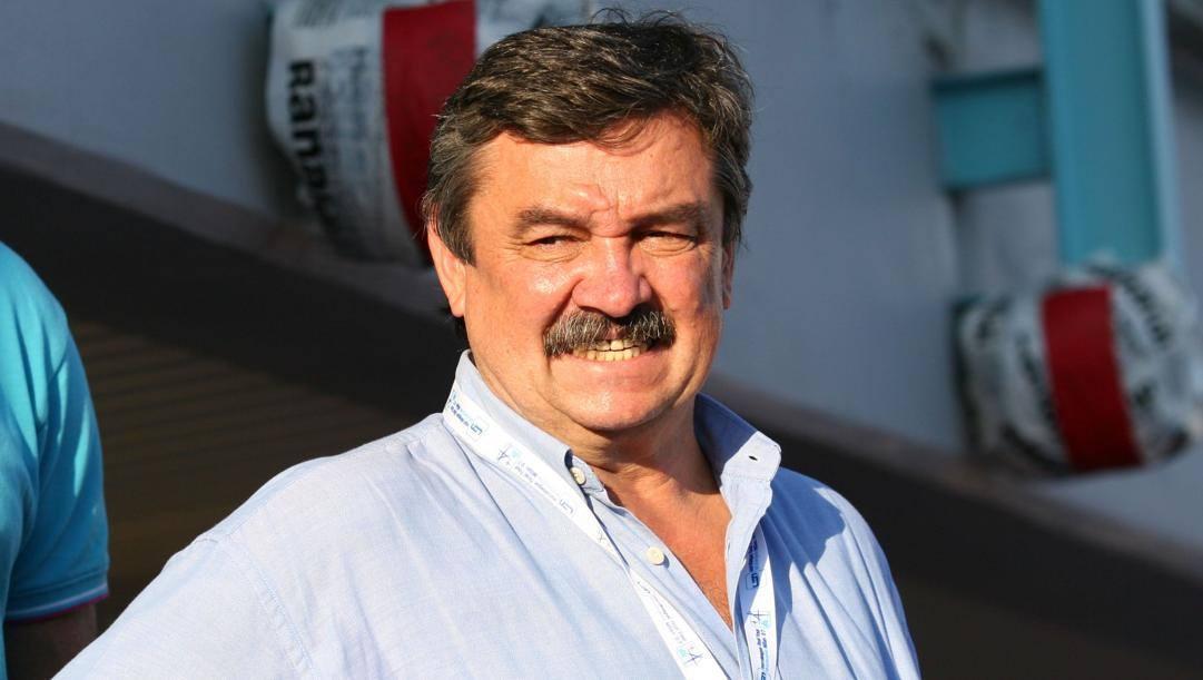 Ratko Rudic, campione olimpico con l'Italia nel 1992. Prospero Scolpini