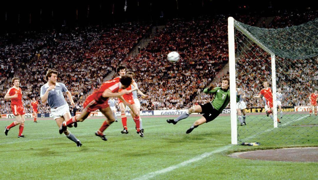 il gol di Trevor Francis che diede al Nottingham Forest la Coppa dei Campioni del 1979.
