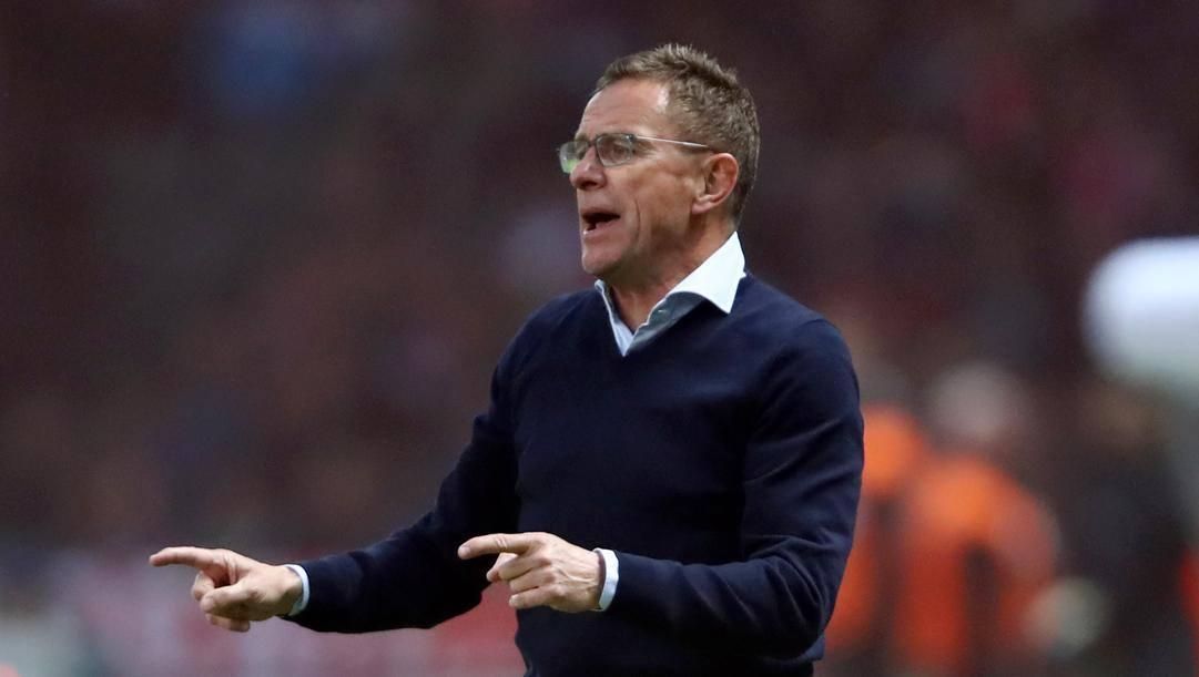 Ralf Rangnick, tecnico di successo con Schalke, Hoffenheim e Lipsia. Getty