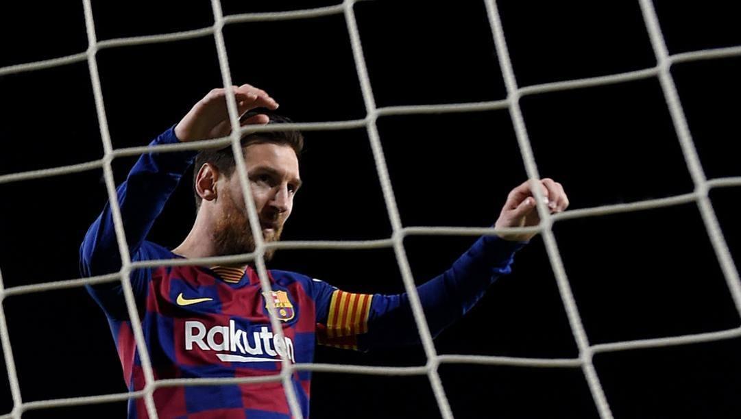 Lionel Messi, 32 anni. Afp