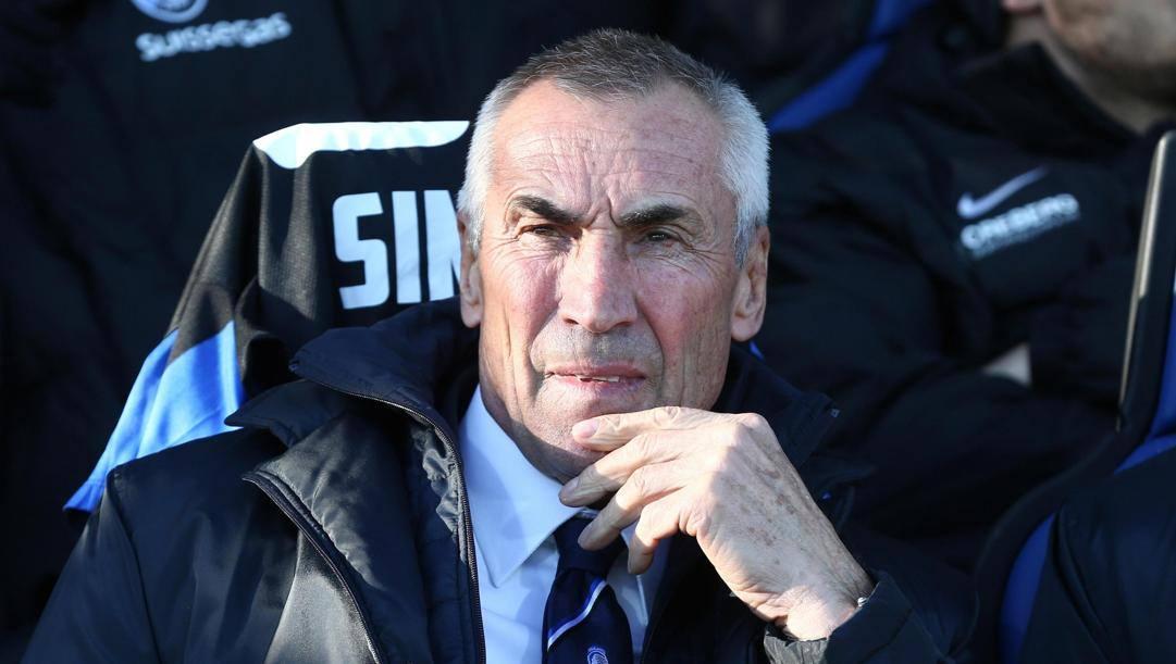 Edy Reja, 74 anni, con l'Atalanta dal marzo 2015 all'estate 2016 (dopo di lui ecco Gasperini). Oggi è il c.t. della nazionale albanese.