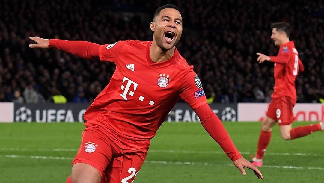 Serge Gnabry, 24 anni, del Bayern. Epa