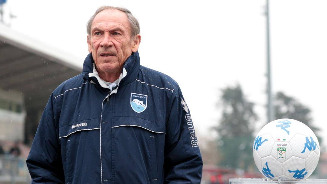 Zdenek Zeman, 73 anni ieri. Lapresse
