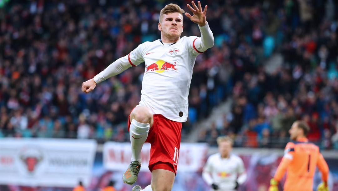 Timo Werner, 24 anni. (Ipp)