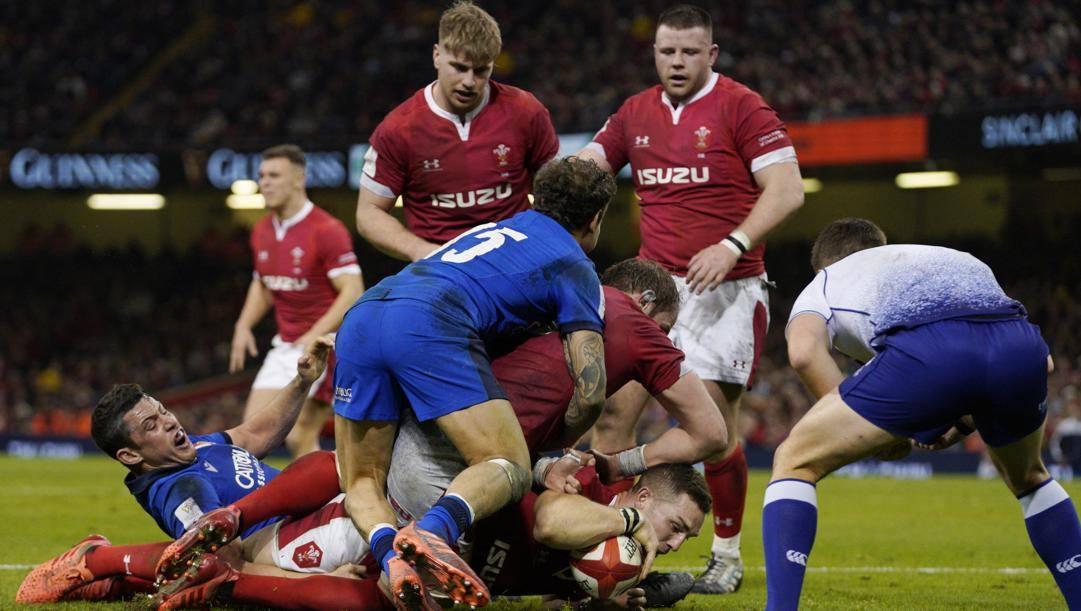 Galles-Italia a Cardiff, il 1 febbraio scorso. La partita è terminata 42-0 (Epa)