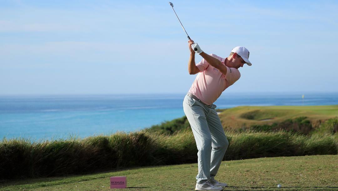 Il golf non si ferma. Afp