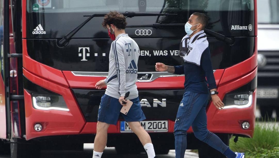 Due giocatori del Bayern. Afp