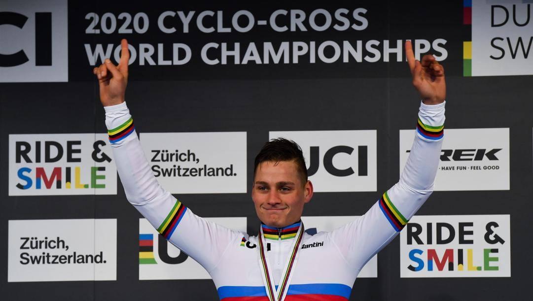 Mathieu Van der Poel, 25 anni. Epa