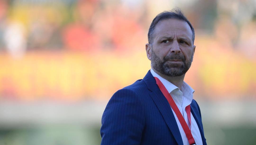 Massimiliano Santopadre, 51 anni, presidente del Perugia. Lapresse
