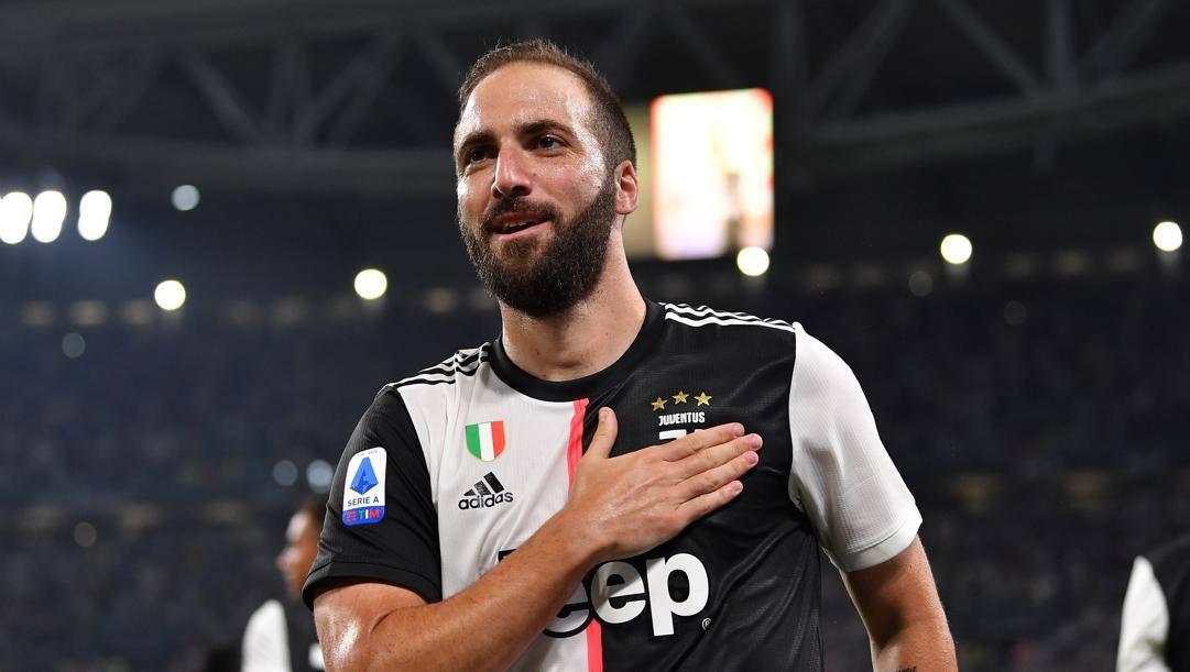 Gonzalo Higuain, 32 anni, attaccante argentino della Juventus. Getty