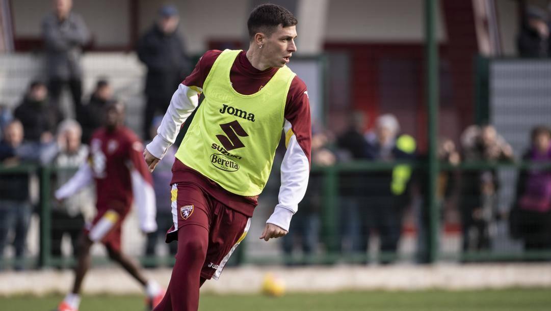 Il centrocampista del Torino Daniele Baselli, 28 anni. LaPresse