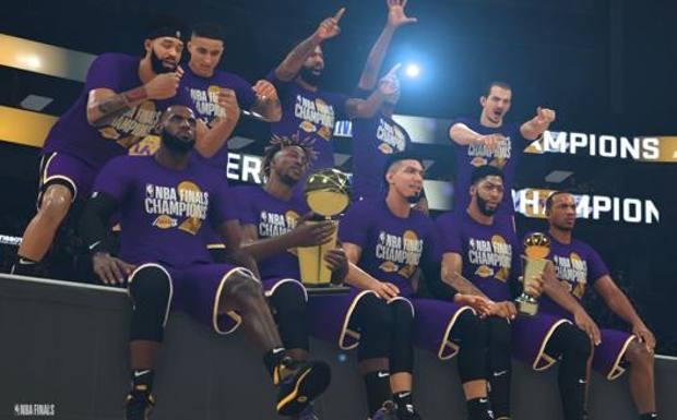 La festa (virtuale) dei Lakers campioni Nba