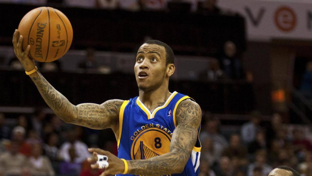 Monta Ellis, oggi 34 anni, ha giocato nei Warriors dal 2005 al 2012. Ap