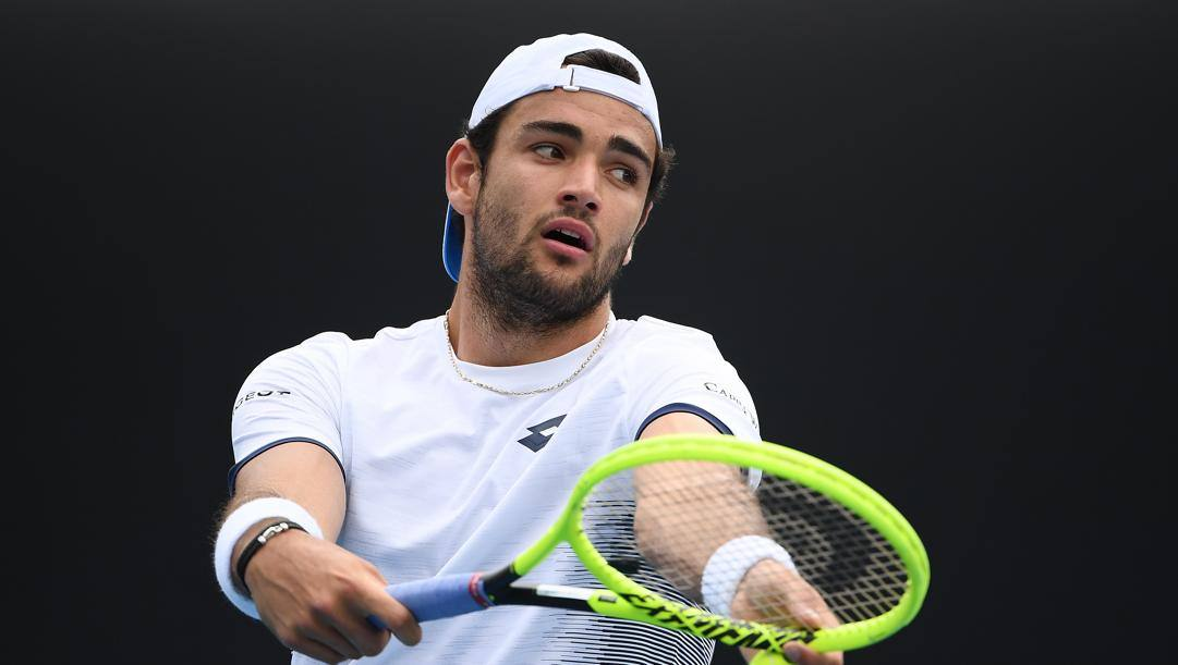 Matteo Berrettini. Getty