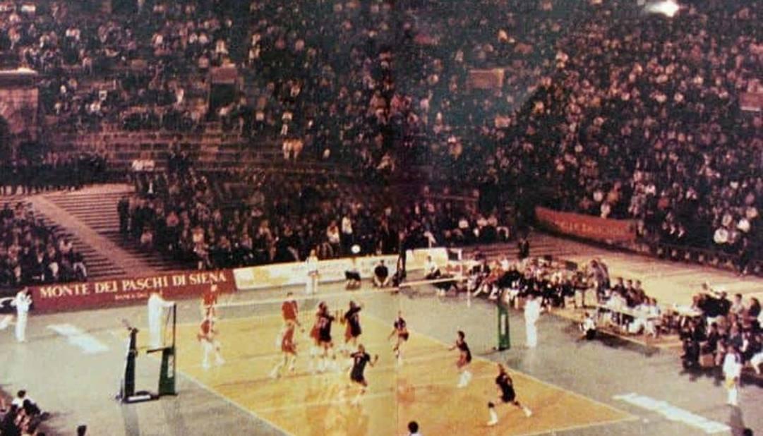 Usa-Urss all'Arena di Verona il 23 maggio 1988