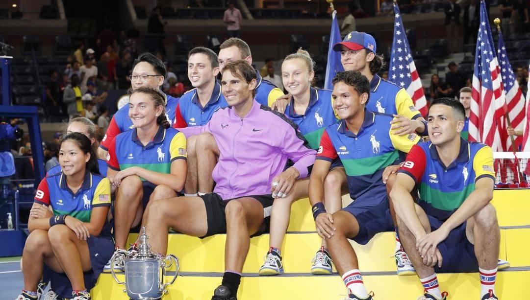 Rafa Nadal vincitore a New York 2019