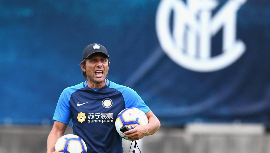 Antonio Conte, prima stagione all'Inter. Getty
