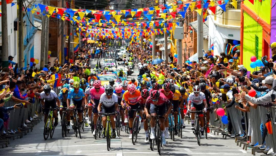 Un'immagine del Giro di Colombia 2020 (Bettini)