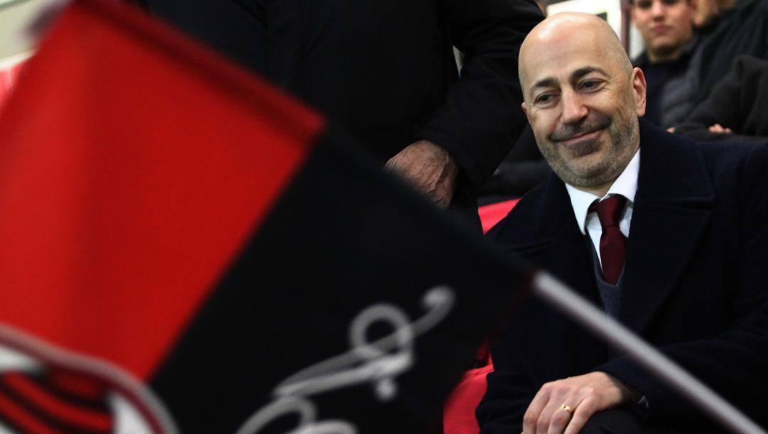 L'a.d. rossonero Ivan Gazidis. LaPresse