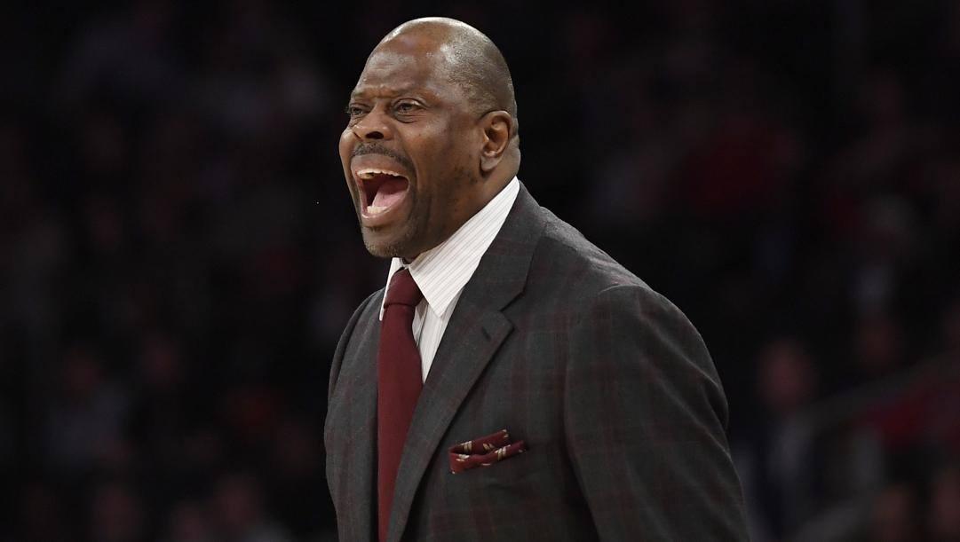 Patrikc Ewing, 57 anni, allena Georgetown dal 2017. Afp