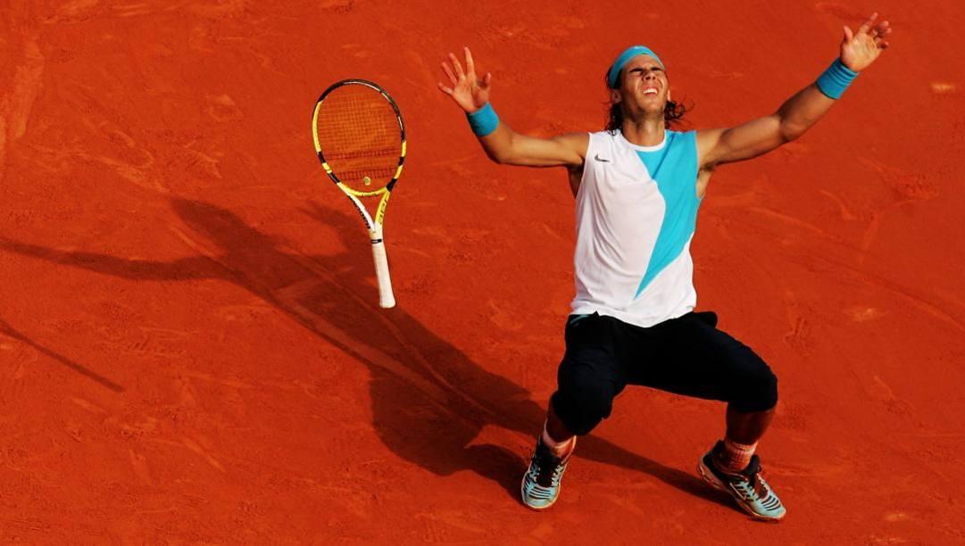 Rafa Nadal, 32 anni, ha centrato per 6 volte in carriera lo slam rosso. Getty
