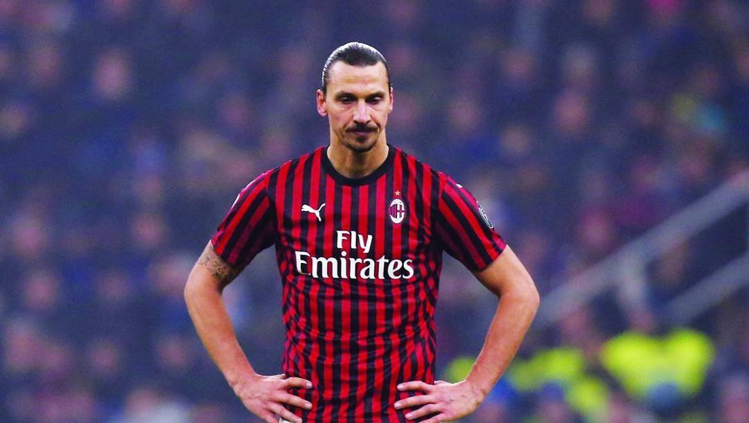 Zlatana Ibrahimovic, 38 anni.