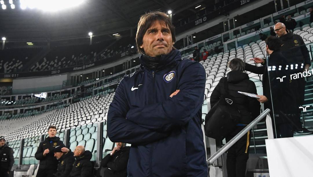 Antonio Conte, prima stagione da allenatore dell'Inter. Getty