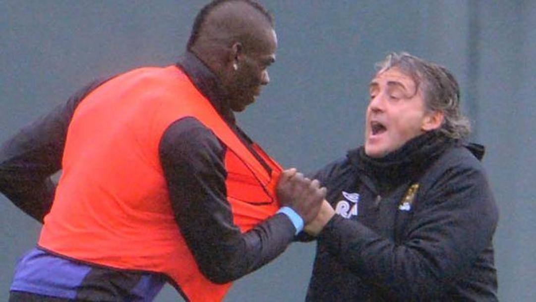La lite Balotelli-Mancini ai tempi del City
