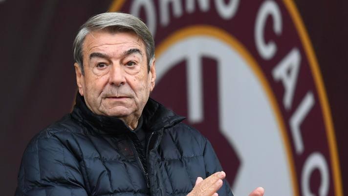 Aldo Spinelli, presidente del Livorno. Lapresse